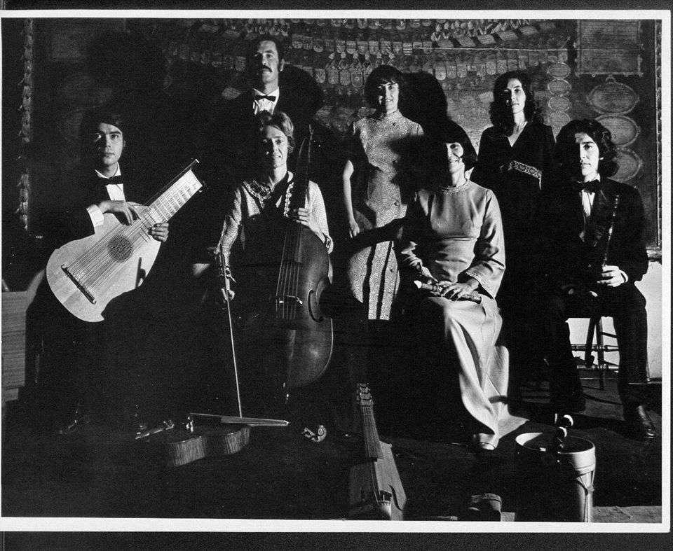 conjunto de musica antigua uc 1973
