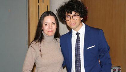 Sebastian Riffo y Claudia Campaña