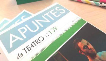 Revista Apuntes Muestra Nacional Dramaturgia