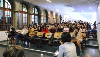 Bienvenida Novatos Artes UC 2019