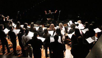 coro de camara aniversario 40 anos