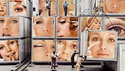 Obra de Martha Rosler para ilustrar cuadernos de arte 24